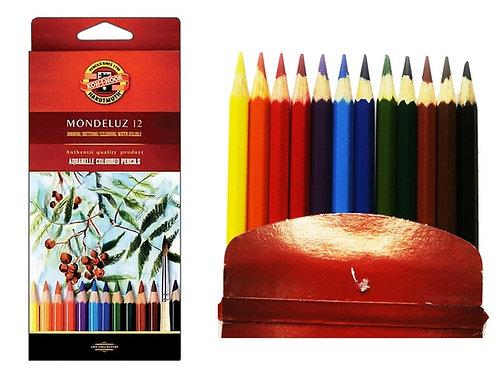 Карандаши цветные 12 акварельные KOH-I-NOOR