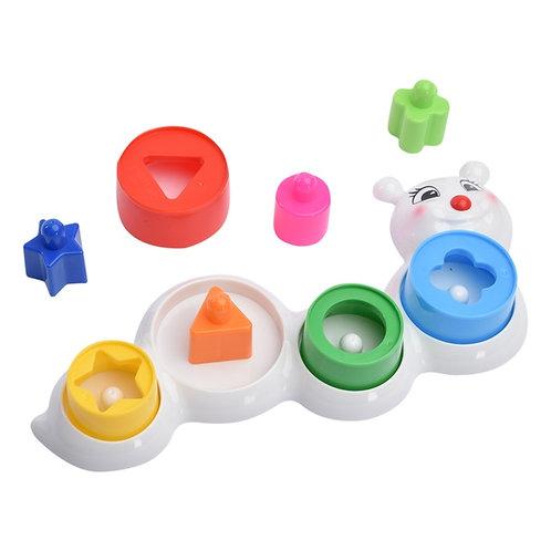 Логическая игрушка Гусеница Стеллар