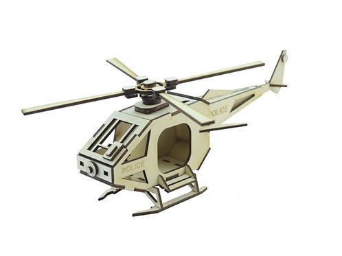Конструктор LEMMO Вертолет Полиция