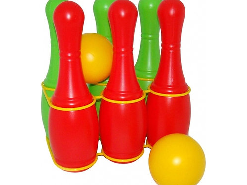 Кегли игровой набор (6 штук) Полесье