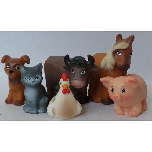 Игровой набор Домашние животные (пластизоль) Весна