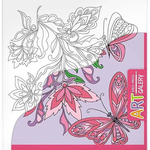 Основа для творчества малая Бабочки Айрис