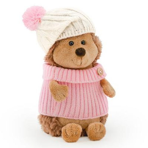 Мягкая игрушка Ежик Колюнчик в шапке