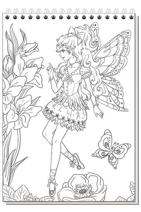 Блокнот Волшебные феи Айрис