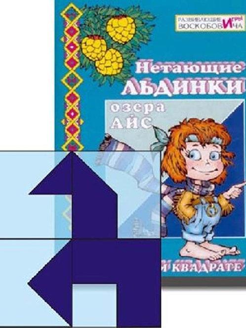 Дидактическая игра Прозрачный квадрат+сказка Воскобович