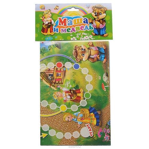 Игра настольная-бродилка Маша и медведь