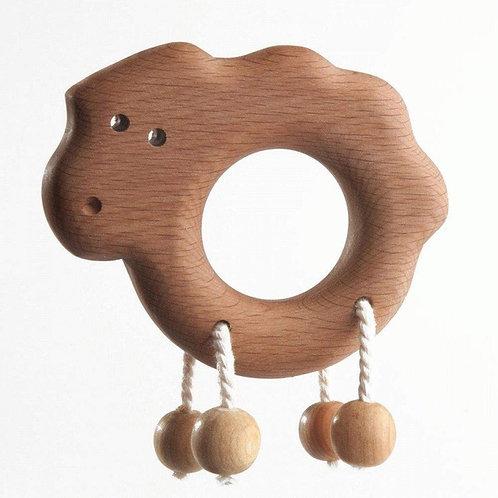 Погремушка-грызунок Ягненок Леснушки