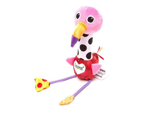 Игрушка Веселый розовый Фламинго Lamaze