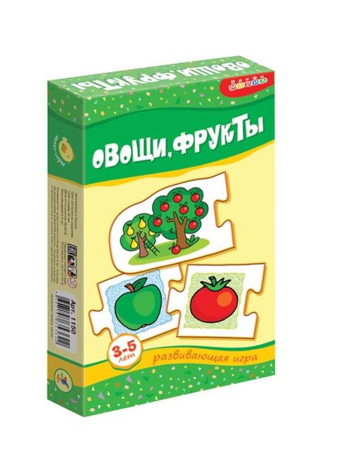 Мини-игры Овощи, фрукты Дрофа