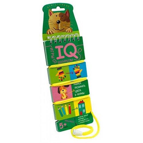 Игры со шнурком Цвет и форма Айрис
