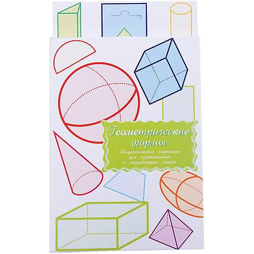 Дидактические карточки Геометрические формы Маленький гений