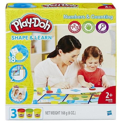 Игровой набор Цифры и числа Play-Doh