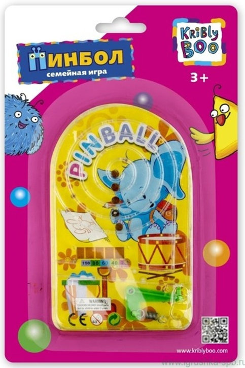 Игра Закати мячики Kribly Boo