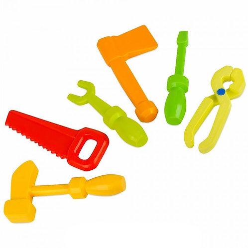 Игровой набор инструментов Маленький мастер Росигрушка