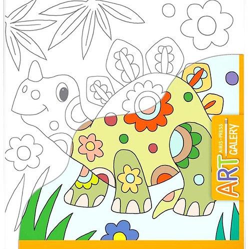 Основа для творчества малая Динозавр Айрис