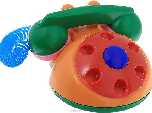 Игрушка развивающая Телефон детский Аэлита