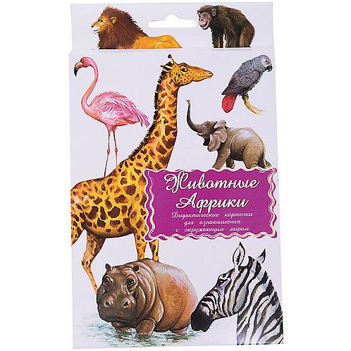 Дидактические карточки Животные Африки Маленький гений