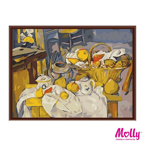 Картина по номерам Сельская трапеза Molly