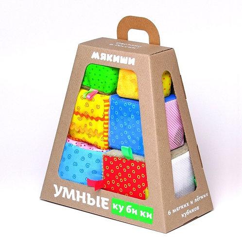 Игрушка Умные кубики Мякиши
