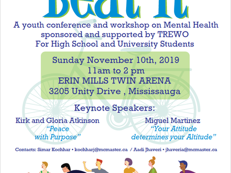 BEAT IT! A Youth Conference on Mental Health!