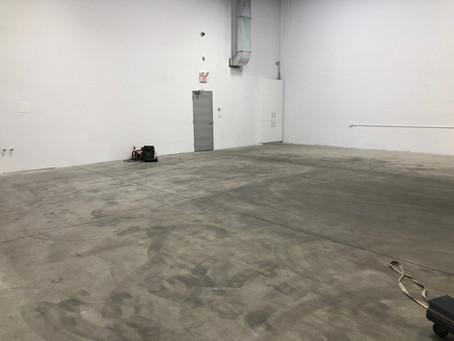 LVMax application over Concrete Floors
