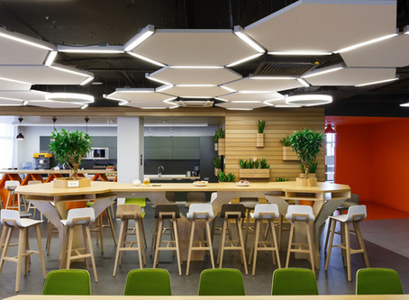 Office Cafeterias: Interior Design for Healthier Choices