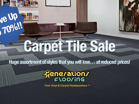 REDUCED PRICES on Carpet Tiles Sale!