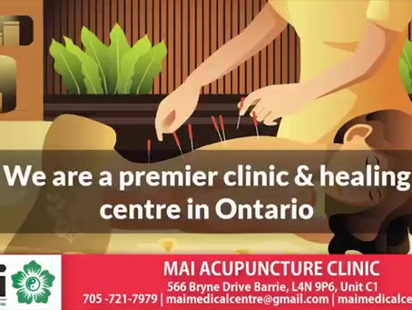 Our New Acupuncture Clinic in Barrie