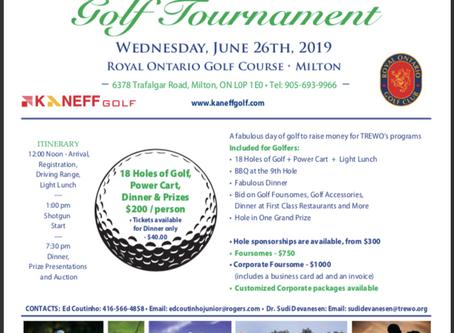 2019 TREWO's 4th Annual Golf Tournament