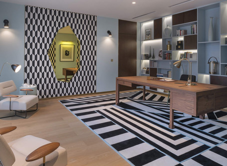 How To Blend The Art Deco Movement In Your Office's Interior?