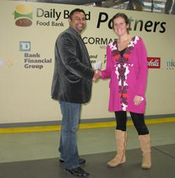 Daily Food Bank - 2009