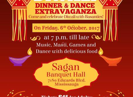 Diwali Dinner & Dance Extravaganza