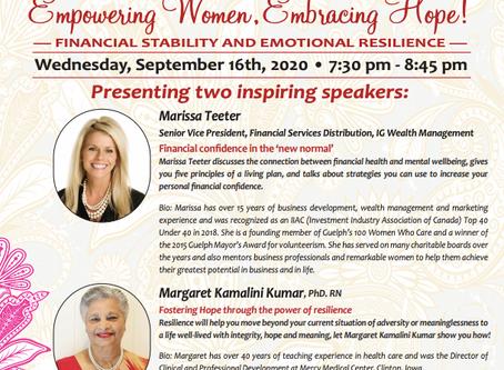 Empowering Women, Embracing Hope!