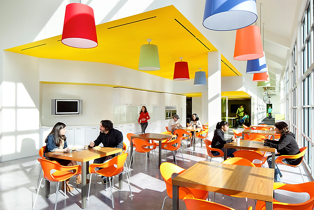 Design tips for your office cafeteria