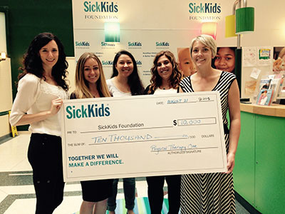 Sick Kids Foundation 2015