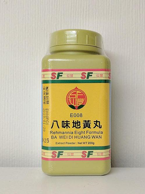 Ba Wei Di Huang Wan 八味地黃丸 Rehamannia Eight Formula