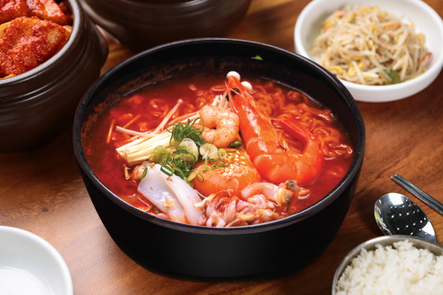 Spicy Seafoods Ramen