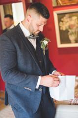 groom at homewood park bath wedding venue
