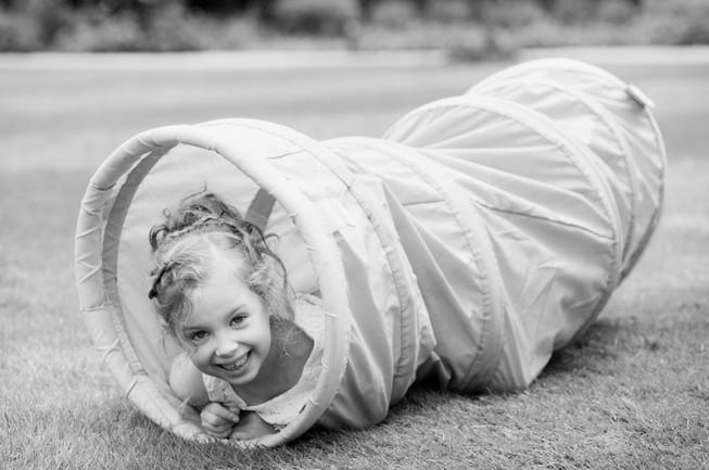 child playing at homewood park bath wedding venue