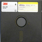 Promotional 5 1/4 floppy disk
