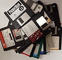 promotional used floppy disk