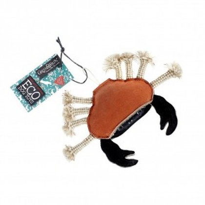 Carlos the crab - eco friendly robust dog toy