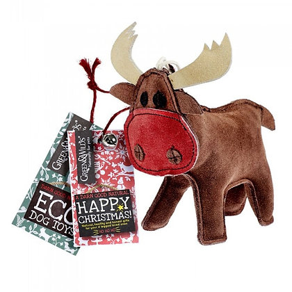 Rudy the reindeer - eco friendly dog toy