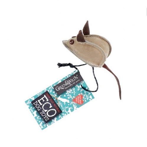 Mike the Mouse - Eco Dog Toy