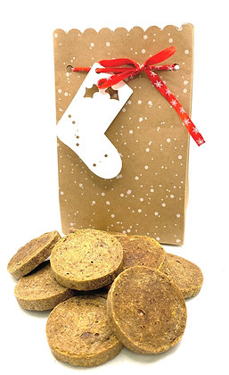 Turkey treat Christmas gift bag