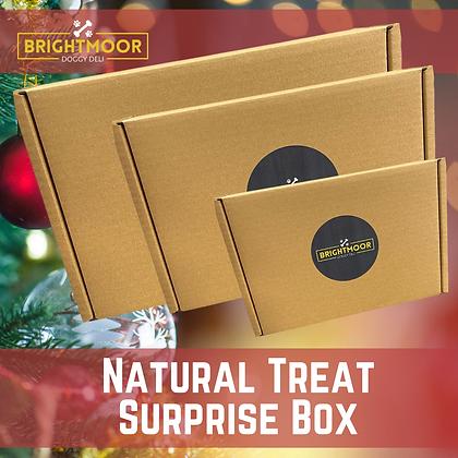 Christmas surprise treat box