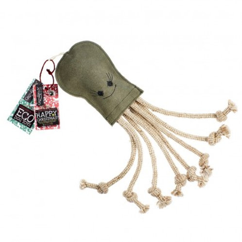 Olive the Octopus - Eco Dog Toy