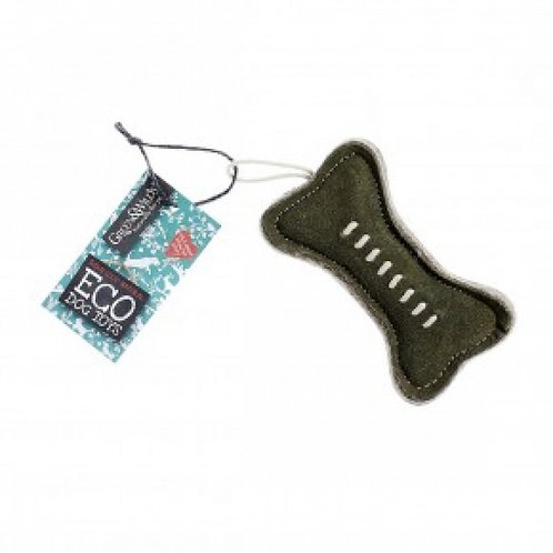 Green bone - eco friendly dog toy