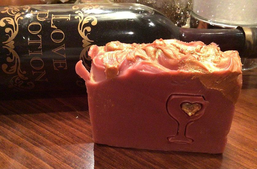 Love Potion WINE soap