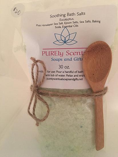 Pink Himalayan Sea Salts Luxury Bath Salts 30 oz